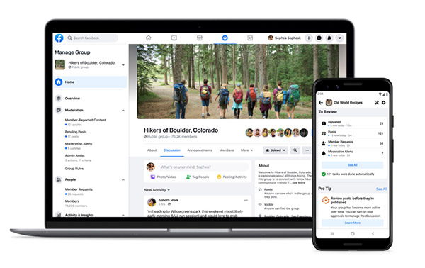 Facebook lunches new tools to help community builders manage and nurture their groups