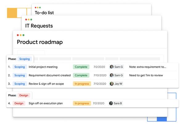 Google's AirTable rival, Tables, graduates from beta test to become a Google Cloud product