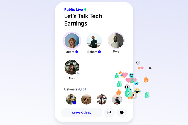 Robinhood competitor public is launching in-app live audio programming