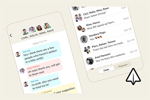 Clubhouse launches its DM feature backchannel