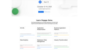 Google Cloud opens free registration for Cloud Next '21 as virtual conference