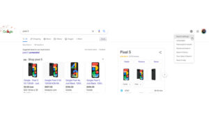 Google moves Search Settings to new button, tests dark mode toggle and background images