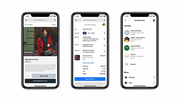 Facebook's payment system extends to online retailers in August