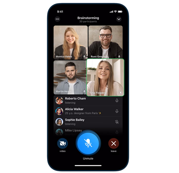 Finally, Telegram launches group video call