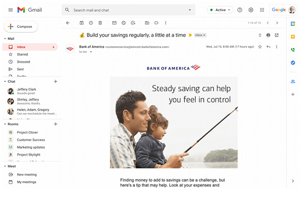 Gmail update will go some way to eliminating phishing once and for all