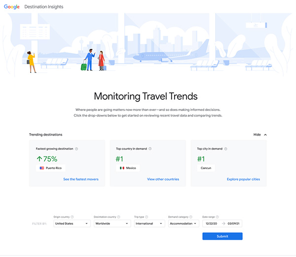 Google: Tools and partnerships to help travel recover and thrive