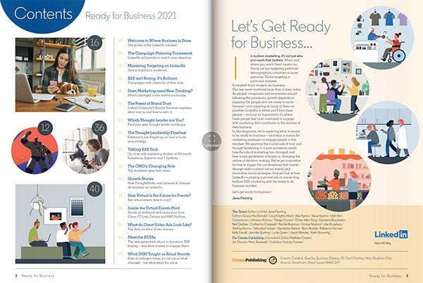 LinkedIn released its business 2021 magazine