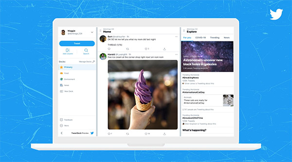 Twitter shares a first look at the 'big overhaul' coming to TweetDeck