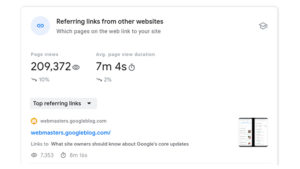 Google Search Console insights behind the curtains