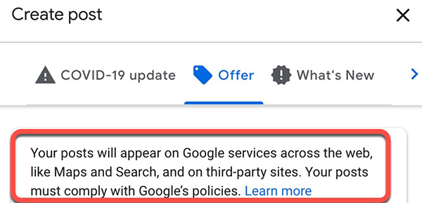 Google posts can now appear on third party sites without your knowledge