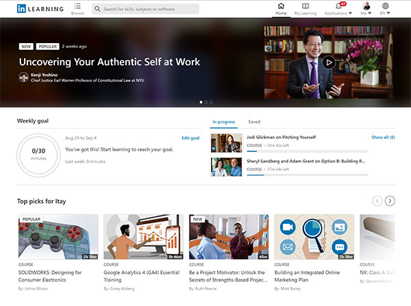 LinkedIn adds new live-stream events for LinkedIn learning, lists most popular courses of 2021 thus far