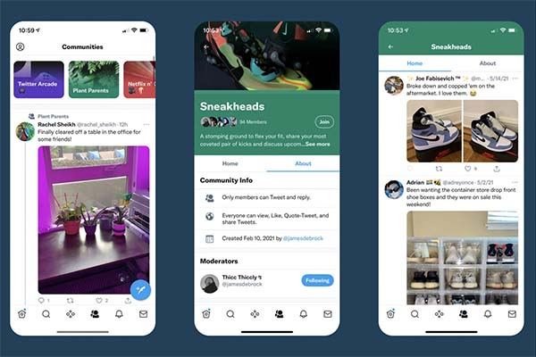 Twitter takes on Facebook Groups with invite-only communities