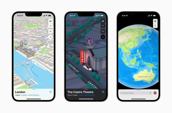 Apple Maps rolls out 3D view to London, LA, New York and San Francisco