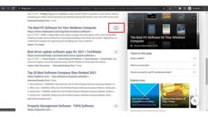 Bing Tests Light Bulb on Search Results That Expand Snippet