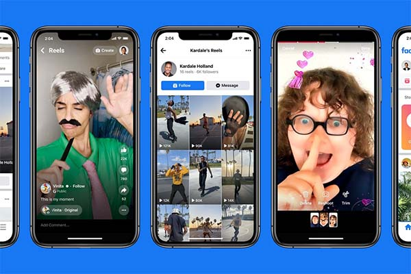 Instagram Reels are now widely available on Facebook in the US